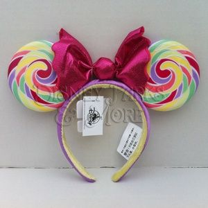 Disney Lollipop Sweet Treat Candy Ears Headband